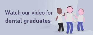 Watch our video for dental graduates