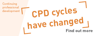 CPD cycles have changed: Find out more.